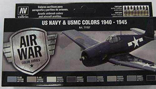 Vallejo WWII USN Aircraft Model Air Paint, 17ml ()