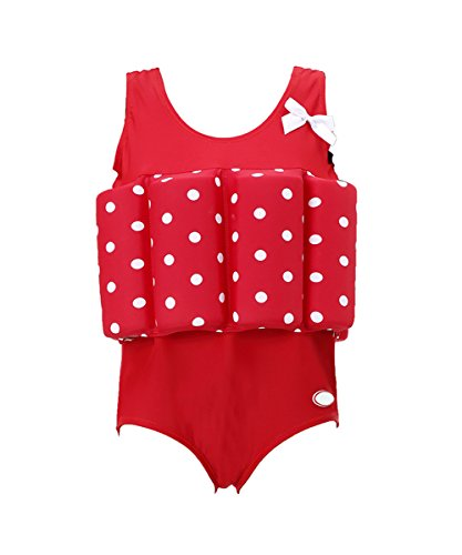 (Zerlar Floatation Swimsuits with Adjustable Buoyancy for 1-10 Years Baby Girls)