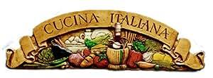 Piazza pisano italian kitchen wall decor for Amazon cucina