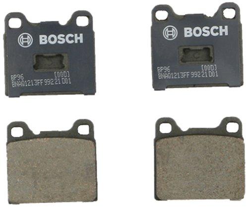 (Bosch BP96 QuietCast Premium Semi-Metallic Disc Brake Pad Set For Select Audi 100 Series, Fox; Opel Kadett, Manta, Rallye; Volkswagen Rabbit, Rabbit Convertible; Front)