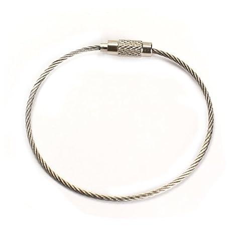 Amazon.com: winnereco 200 mm alambre de acero inoxidable ...