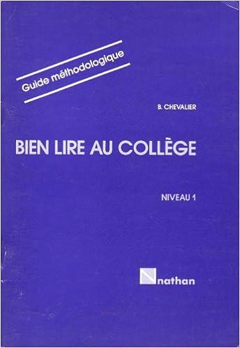 Bien Lire Au College 6eme 5eme Niveau 1 Livre Du Professeur