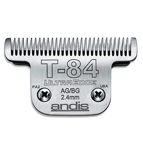 MPPANDIS Professional Dog Grooming Ultra Edge Clipper Blades Choose Size (# t-84 = 2.4mm)