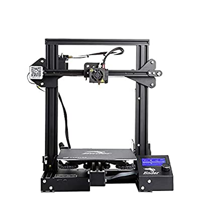 Ender 3 Pro 3D Printer with Upgrade Cmagnet Mat and Meanwell Power Supply