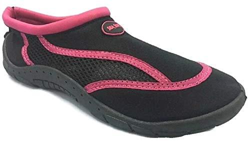 Sea Sox Ladies Womens Waterproof Water Shoes Aqua Socks Beach Pool Yoga Exercise Boating Surf Mesh Adjustable Toggle
