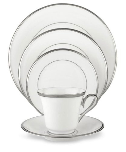 - Lenox Solitaire White 6-Piece Dinnerware Place Setting
