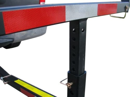 Tms t ns hitch bed extender heavy duty pickup truck bed for Outboard motor dolly harbor freight
