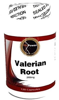 Valerian Root 2000mg # Herbal Sleep Formula, 240 Capsules by BioPower Nutrition (2 Bottles)