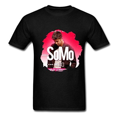 Price comparison product image Men's Somo US Spring TourPoster T shirts Black S