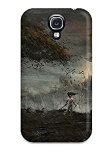 Irene C. Lee's Shop Awesome Defender Tpu Hard Case Cover For Galaxy S4- Video Game Afro Samurai