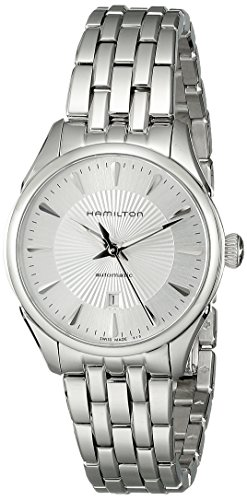 Hamilton Women's H42215151 Jazzmaster Analog Display Automatic Self Wind Silver Watch