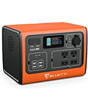 BLUETTI EB55 Portable Power Station, 700W/537Wh Solar Generator with 4 110V Pure Sine Wave AC Outlets, 2 100W USB-C, Wireless Charging, LiFePO4 Battery Backup for Camping Outdoor Trip Power Outage