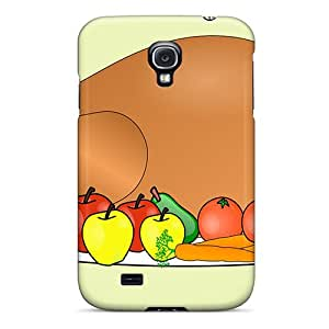 Galaxy S4 Case Cover Skin : Premium High Quality Thanksgiving Clipart Case