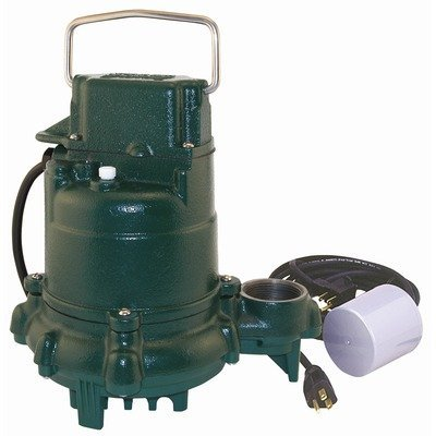 - Variable Level Float Switch Effluent Pump with 15 Feet Cord