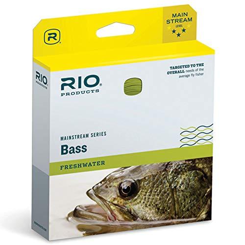 Rio Fly Fishing Fly Line Mainstream Bass/Pike/Pinfish Wf7F Fishing Line, Yellow