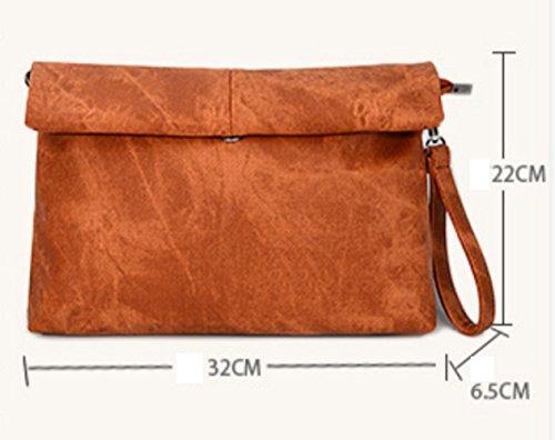 Della Xzw Nb A Clutch Bags Retro Tracolla Lightgrey Signora Borse rIaqwnxIUS