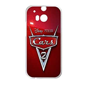 Cars 2 HTC One M8 Cell Phone Case White D5771447
