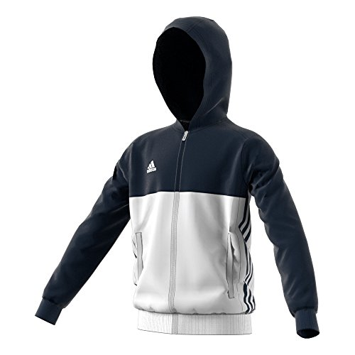 À Capuche T16 Blanc Sweat Adidas Marine ado Bleu KZ7My