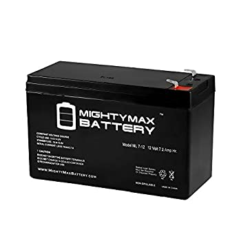 ML7-12 - 12V 7.2AH Replacement Battery for APC ES500, ES550, LS500, RBC110, RBC2 - Mighty Max Battery brand product