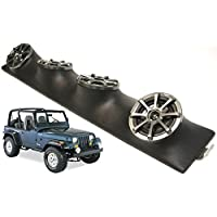 Jeep Wrangler Kicker Powered KS525 Car Stereo Speakers Loaded Sound Bar System