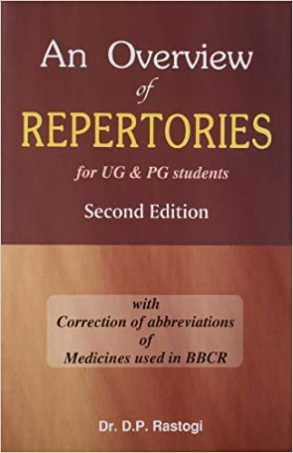 Book Overview of Repertories for Ug and Pg Students by D. P. Rastogi (2008-01-01)