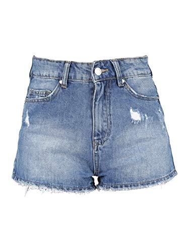 a di jeans SMAGLI corti Pantaloncini vita alta Jeans UTIUqpx