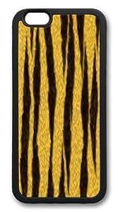 Rosesea Custom Personalized Custom DIY Case for iphone 6 Plus, Tiger Stripes Hard PC Back Protective Case for iphone 6 Plus 5.5