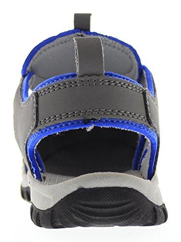 Northside Kids Burke II Sandal Gray/Blue