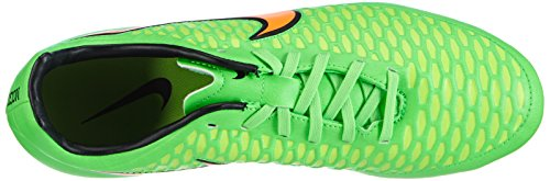 Nike Heren Magista Onda Fg Soccer Cleats Vergif Green, Totaal Oranje, Zwart