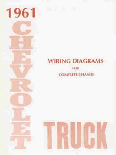 1961 chevrolet truck & pickup complete 10 page set of factory electrical  wiring diagrams & schematics guide covers panel, platform, suburban, light,  medium and heavy duty truck models covers ½-ton, ¾-ton, 1-ton,  amazon.com