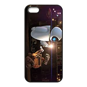 iphone5 5s Black phone case Disney characters Wall-E DSN9672895