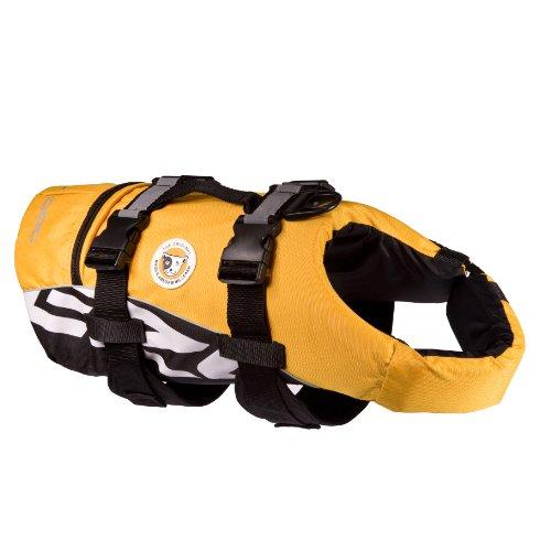 EzyDog Seadog Hunde-Schwimmweste, Größe S, gelb