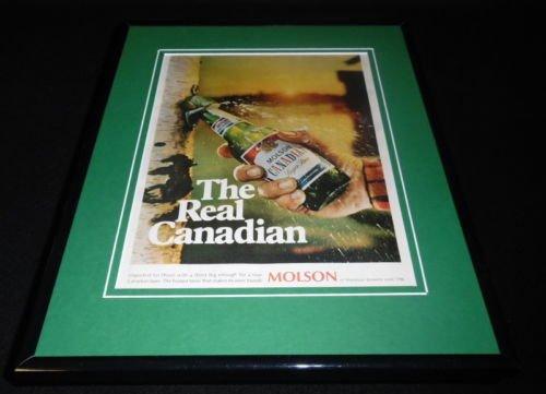 1968-molson-canadian-beer-framed-11x14-original-vintage-advertisement