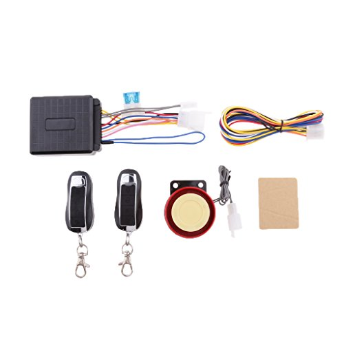 Motorcycle Alarm Remote - Jili Online 2 Way Motorcycle Alarm 2 Big LCD Remote Engine Motorbike Start Anti-theft Security System Scooter