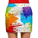 Loudmouth Golf Womens Skort: Drop Cloth - Size 6