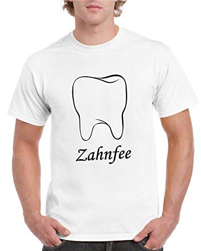 2Store24 T-Shirt Zahnfee in Weiß bis Größe 5XL Spruch Witzig Fun T-Shirts a3dfc0cb96