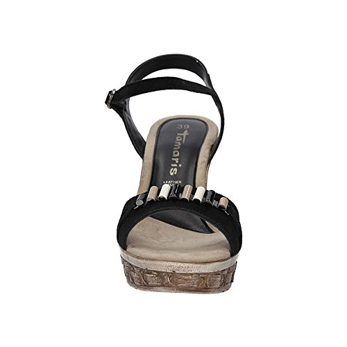 Sandals Black Women's Women's Tamaris Sandals Black Fashion Tamaris Tamaris Fashion w5vqIxI