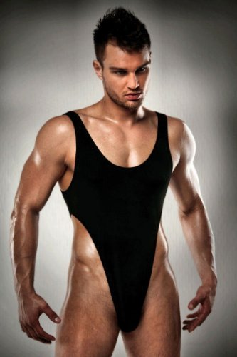 Passion Thong Body Black Small/Medium by Passion (Passion Thong)