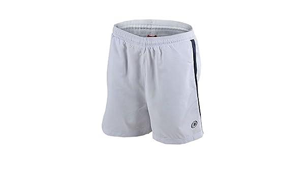 Bull padel Pantalon Corto BULLPADEL BOCOS 15 Blanco: Amazon.es ...