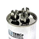 TEMCo Motor Dual Run Capacitor RC0114-370-440 VAC