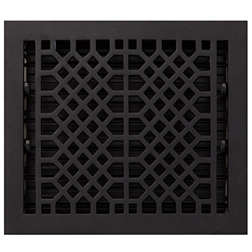 (Signature Hardware 344780 Antique Cast Iron Floor Register - 10