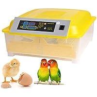 Incubadora Automática de 48 Huevos con Pantalla Digital