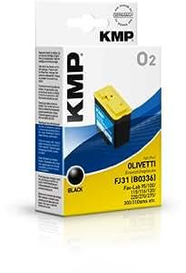 KMP O2 - Cartucho de tinta Olivetti FJ31 B0336, color negro