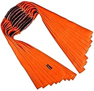 Powerful Pro Slingshot Rubber Bands Flat Thick Hunting Catapult Elastic Bungee Replacement Flat Rubber Bands f