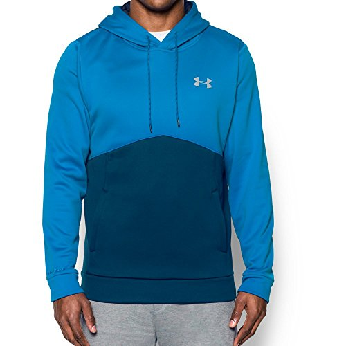 Under Armour Men's Storm Armour Fleece Hoodie, Blackout Navy/Water, Small