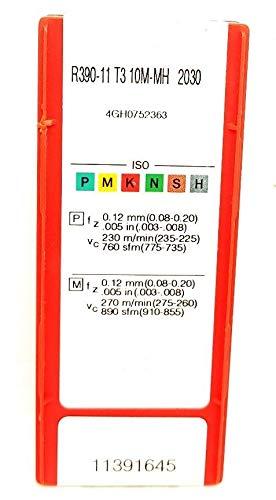 Sandvik R390-11T3 Hartmetalleinsätze 10M-MH 2030 Frässpitzen #SA2, 10 Stück