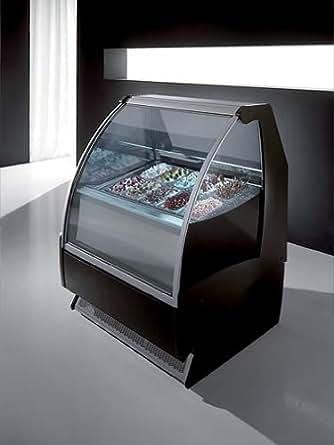 Amazon Com Italiana Gelato Ice Cream Showcase Display