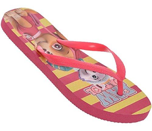 Paw Patrol Nickelodeon Kinder Flip-Flops Fuchsie