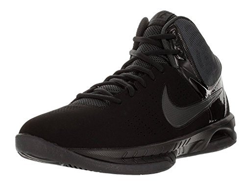 Zapatillas de baloncesto Nike Air Visi Pro VI Nubuck para hombre (15 D (M) US, Black / Anthracite)