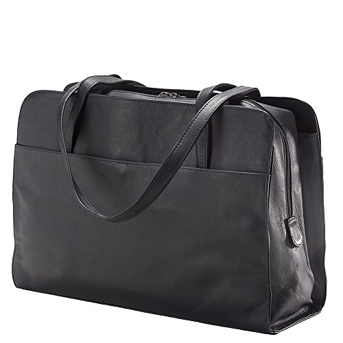 (Clava Leather Three Section Tote)